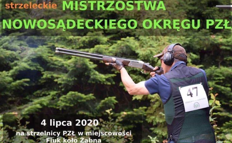 Mistrzostwa Okręgu Sądeckiego na Strzelnicy ZO PZŁ w Tarnowie m. Sierdza – Fiuk